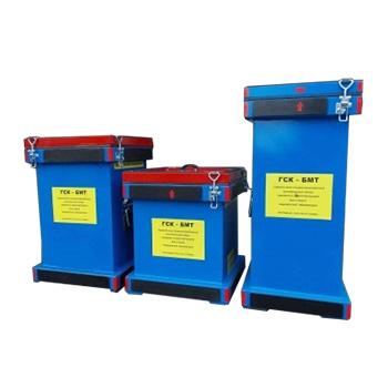 Герметичный специализированный контейнер для боя и брака медицинских термометров ГСК-БМТ