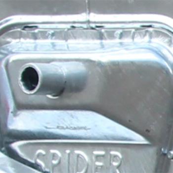 Оцинкованный евроконтейнер MGB-1100, Spider