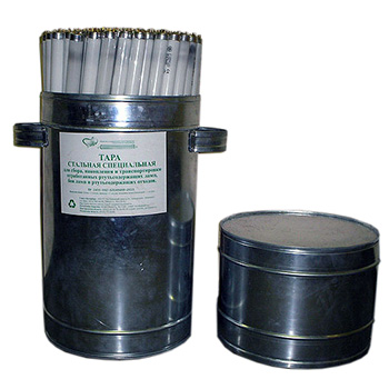 Контейнер для люминесцентных ртутьсодержащих, ртутных ламп 550x450x1000