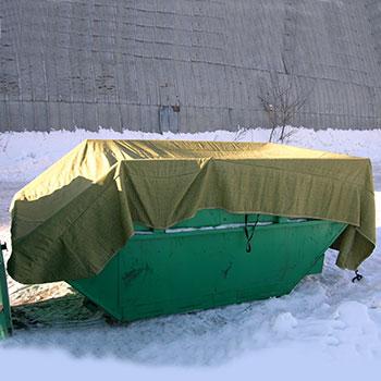 Тент для бункера 8 куб.м.