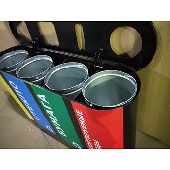 Урна для раздельного сбора мусора Акцент-4