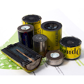 Завод по переработке батареек