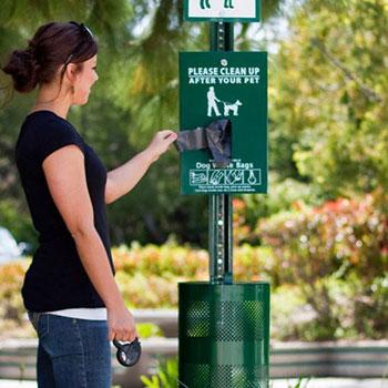 Cтанция по сдерживанию отходов после собак ПЕРСЕЙ