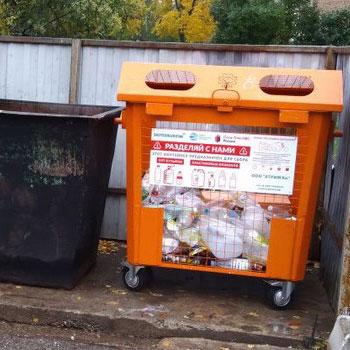 Контейнеры под раздельный сбор мусора (стекло)