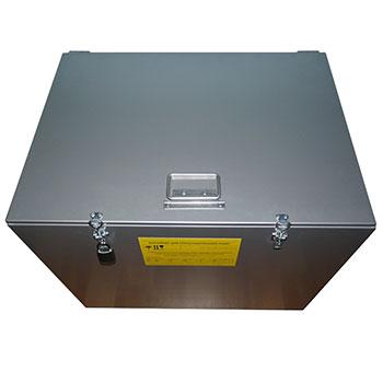 Cпециализированный контейнер для сбора, хранения и транспортировки отработанных ртутьсодержащих ламп ДРЛ, боя ламп, энергосберегающих ламп, К-16 1600x510x610