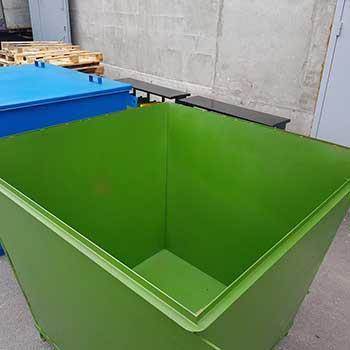 Контейнер для мусора 2,4 м3