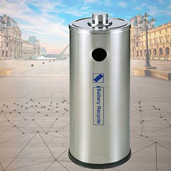Урна для сбора батареек и аккумуляторов из нержавеющей стали