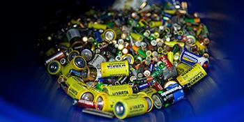 Контейнер для старых батареек