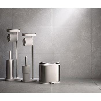Контейнер для раздельного сбора мусора Split для ванной комнаты нержавеющая сталь Joseph Joseph
