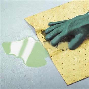Химически стойкая сорбирующая салфетка износостойкая