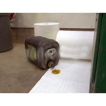 Гидрофобный сорбирующий перфорированный коврик спаянный ультразвуком
