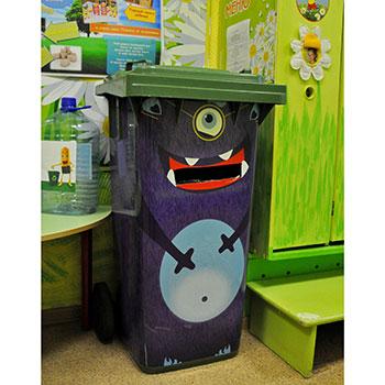 Контейнеры для детей для раздельно сбора мусора