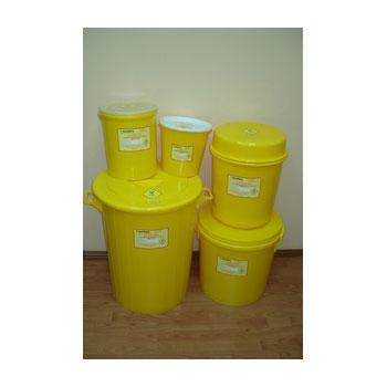 Мусорные баки (классов А,Б,В) для медицинских отходов 65 литров
