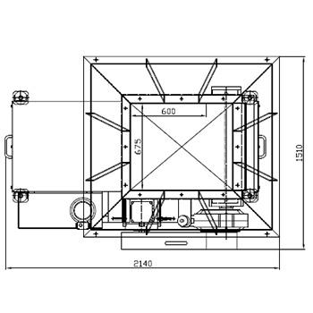 Шредер для измельчения батареек и электронного мусора WS 15