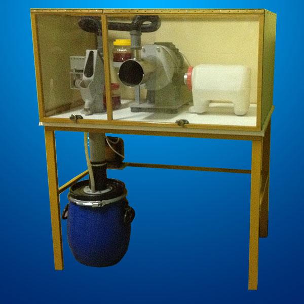 оборудование по переработке ртутных ламп