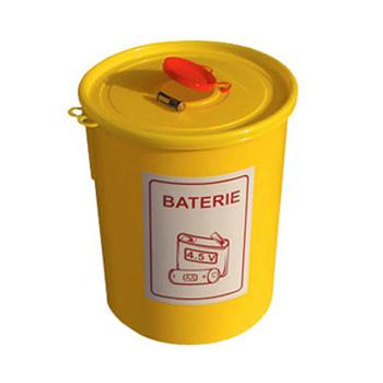 Емкости для использованных батареек