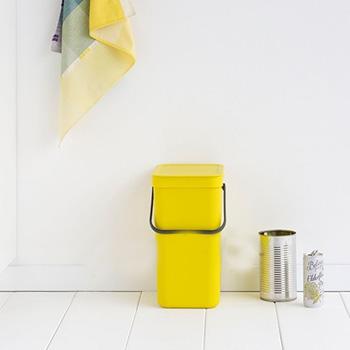Ведро для мусора пластиковое 12л