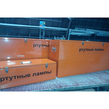 Контейнер для сбора ртутных люминесцентных ртутьсодержащих ламп КРЛ-1-90 1300x300x580