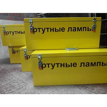 Герметичный контейнер для люминесцентных ртутных ламп КРЛ-СГ-1-30 1300x300x250