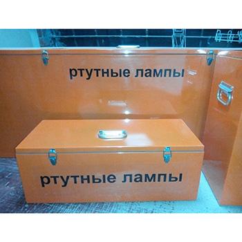 Герметичный контейнер для люминесцентных ртутных ламп КРЛ-СГ-1-90 1300x300x580