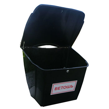 Контейнер для ветоши пластиковый