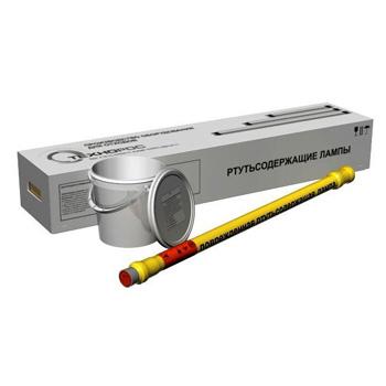 Контейнер для сбора люминесцентных ртутных ламп КРЛ-СГ-1-30 1300x300x250