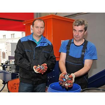 Установка для измельчения, переработки и утилизации батареек бытовых BatONE