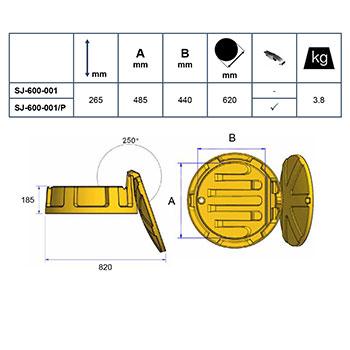 Промышленная воронка для 200л бочки