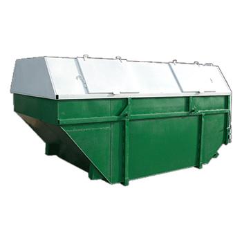 Экономичный контейнер 11 м3 закрытого типа
