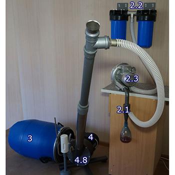 Универсальная установка для переработки люминесцентных ртутьсодержащих ламп Экотром-2У)