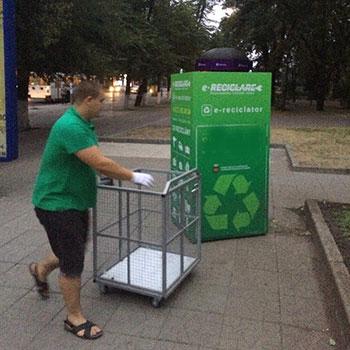 Контейнеры для сбора утилизации электронного мусора (ЭМ)
