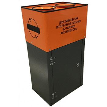 Контейнер для сбора батареек КРОНА