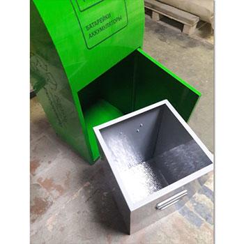 Контейнер для отработанных батареек БЕЛ1 (металл)