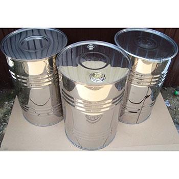 Бочка металлическая стальная закатная с пробками 100 л., БСЗ-100п