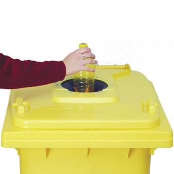 Пластиковые контейнеры для раздельного сбора мусора, 24л.