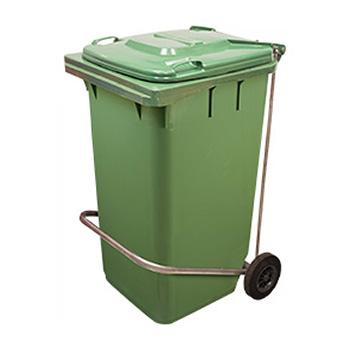 Педальный привод на контейнер от 60 до 240 литров