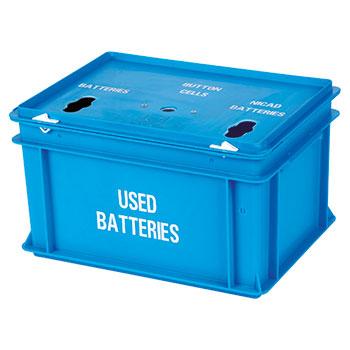 Пластиковый ящик для батареек
