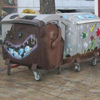 Эксклюзивный дизайн металлического контейнера