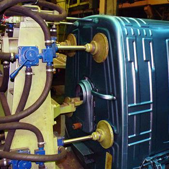 Оцинкованный евро контейнер MGB-1100, Модель SSI SCHAFER