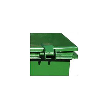 Металлический контейнер 0,75м3 с колесами