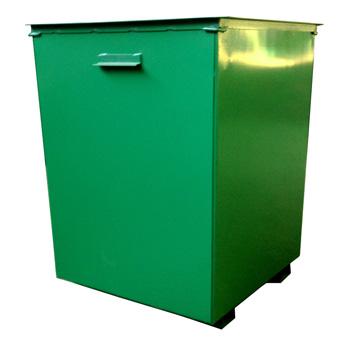 Металлический контейнер 0,75м3 без крышки