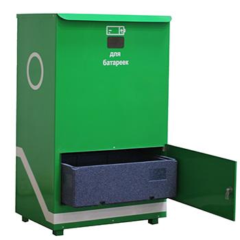 Модульный контейнер для сбора батареек Гринбокс