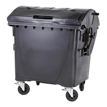 Евроконтейнер для раздельного сбора мусора 1100л. (бумага)