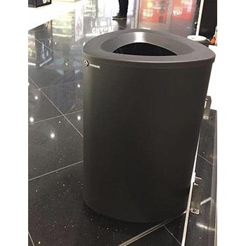 Урна мусорная прозрачная C-THRU