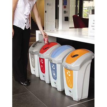 Урна для раздельного сбора мусора в офисах NEXUS 30