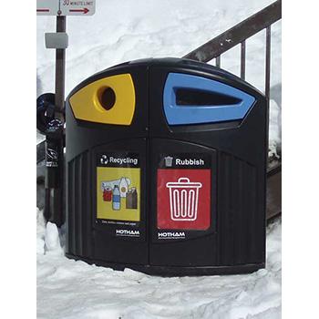 Урна-контейнер для раздельного сбора мусора