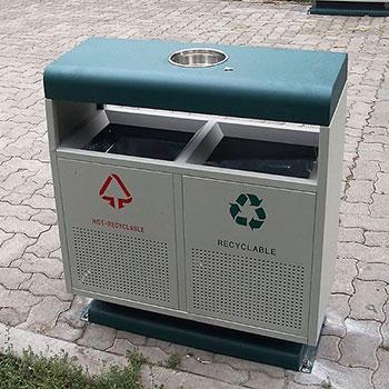 Урна уличная Калгари для раздельного сбора мусора