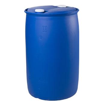 Пластиковая бочка пищевая полиэтиленовая емкостью 227л., БП227L-R