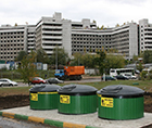 Заглубленные контейнеры для мусора, 3000-5000 л.