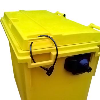 Замок для мусорных контейнеров 120-240 литров